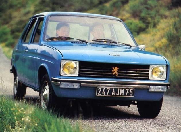 La première Peugeot 104