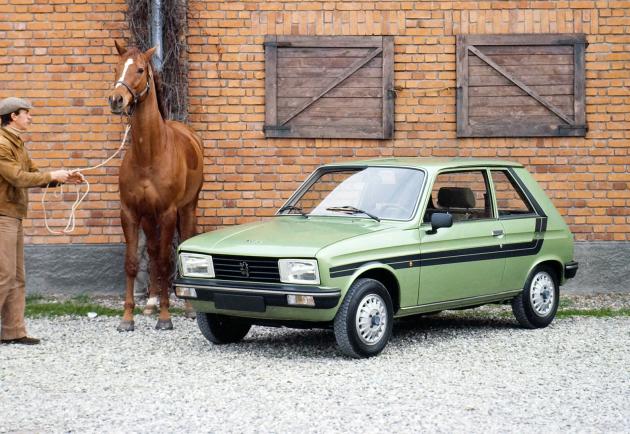 La Peugeot 104 ZS