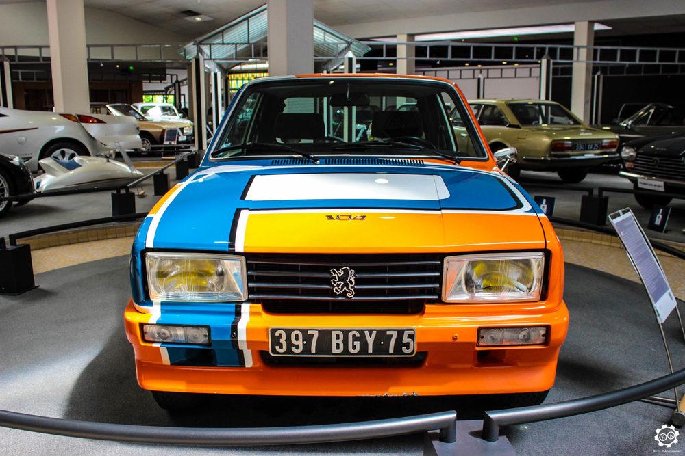 La Peugeot 104 ZS Rallye