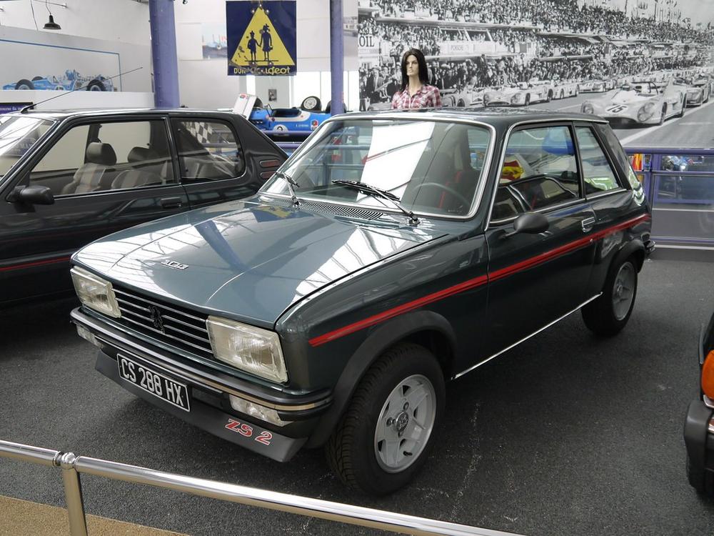 La Peugeot 104 ZS2