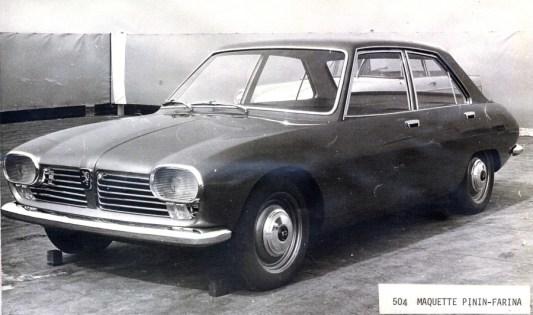 Etude Peugeot 504 par Pininfarina