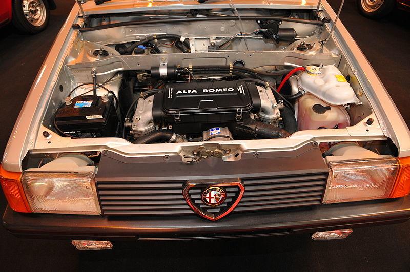 Le moteur de l'Arna