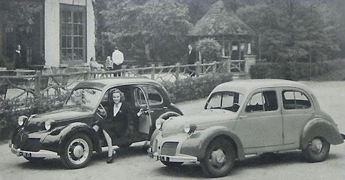 Panhard Dyna X en 1946