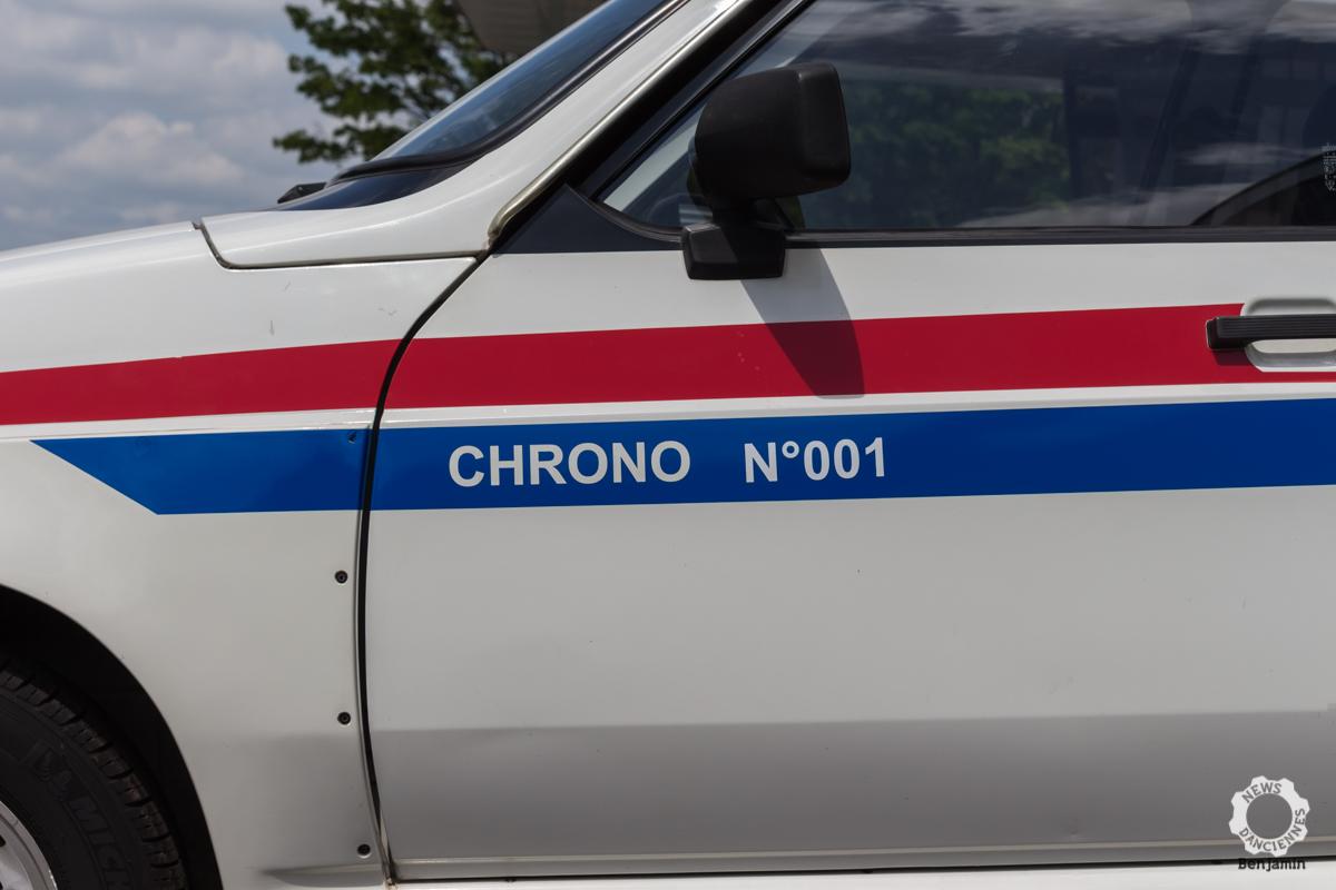Numéro des Citroën Visa Chrono