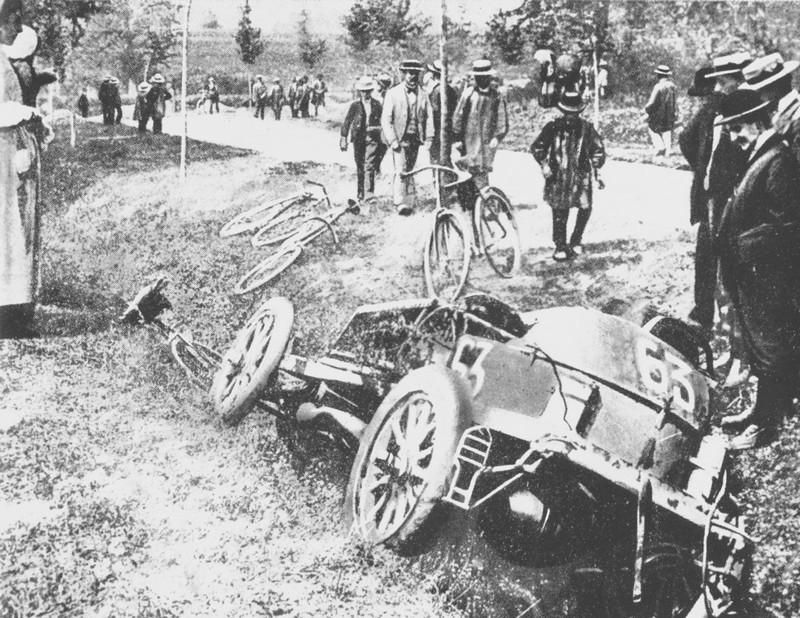 L'accident de Marcel Renault