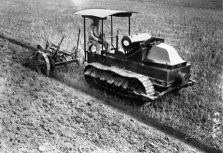 Tracteur à chenille