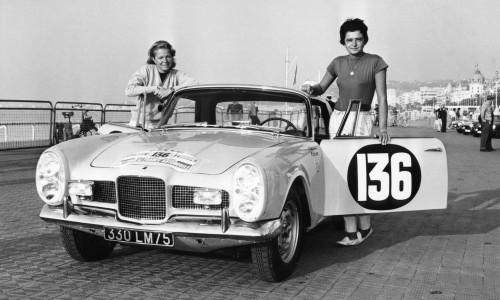 Annie Soisbault Tour de France auto