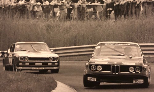 Bataille BMW 3.0 CSL contre Ford Capri 2600 RS