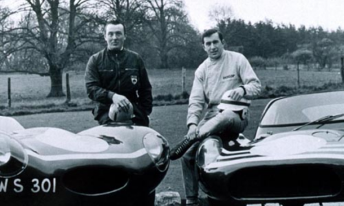Jimmy and Jackie Stewart