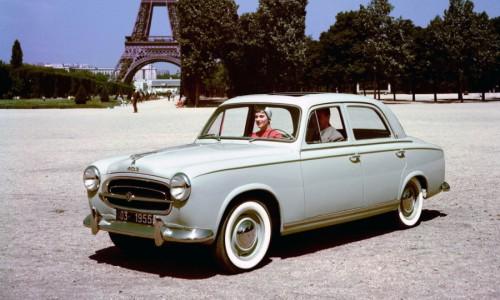 Peugeot 403, une populaire pour s'attaquer au Tour Auto !