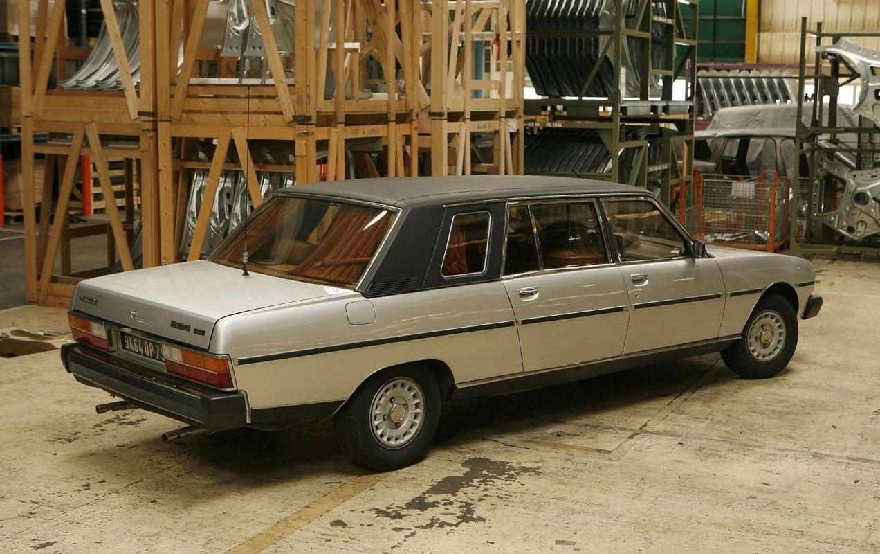 Peugeot 604 -  Lomousine Heuliez