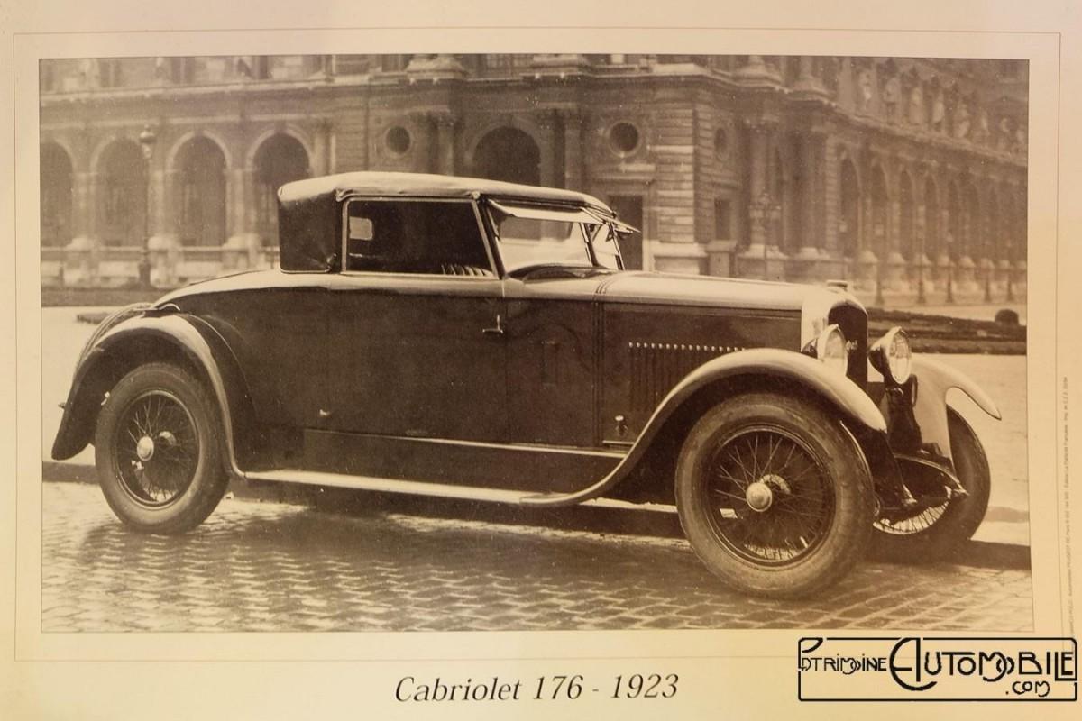 Peugeot Type 176 -  Cabriolet Felber