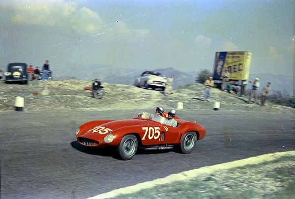 Ferrari 118 LM -  Scaglietti Spyder