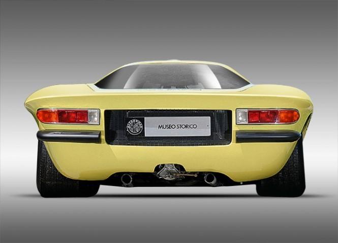 Alfa Romeo Tipo 33/2 Pininfarina Coupe Speciale