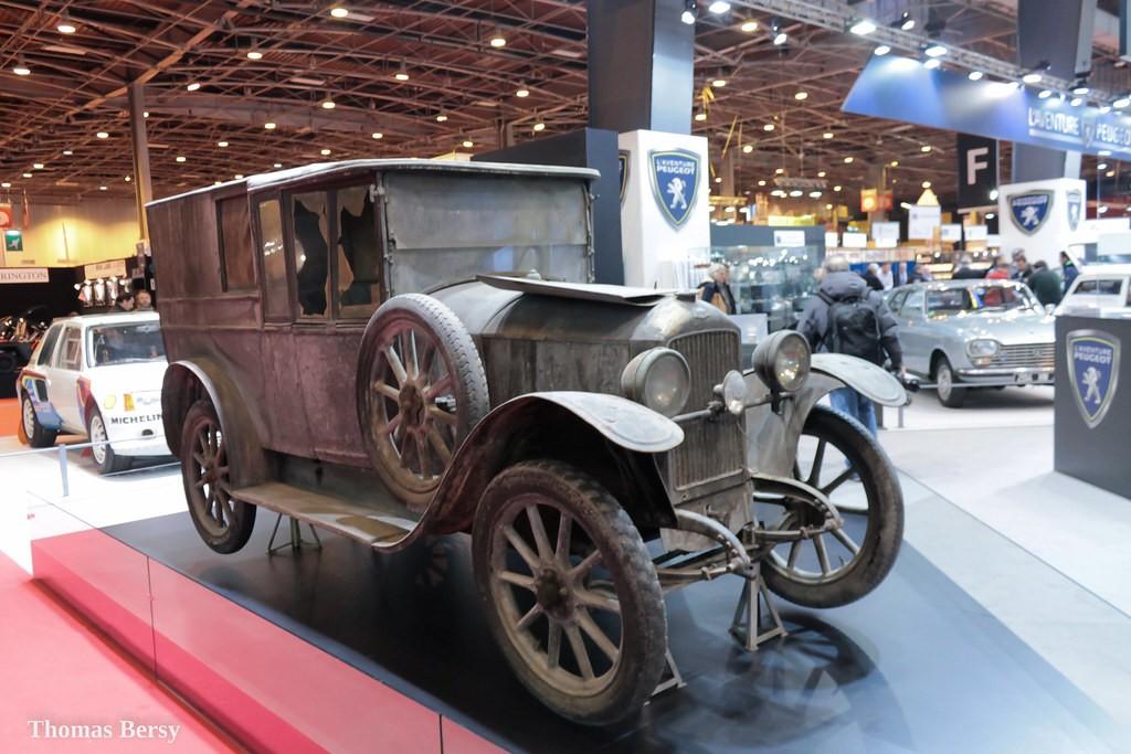 Peugeot Type 163 -  Torpédo