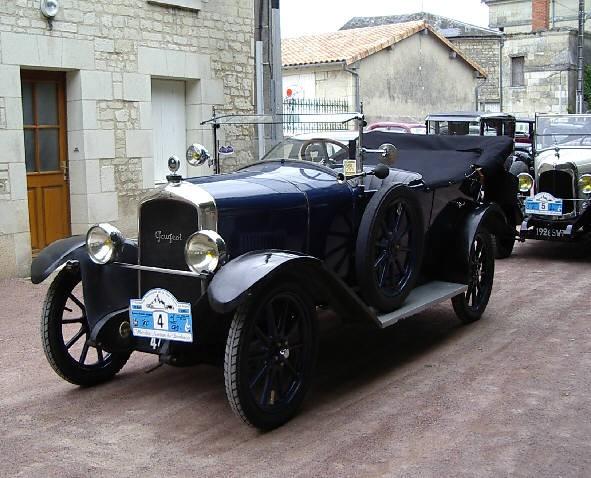 Peugeot Type 177 -  B - Torpédo