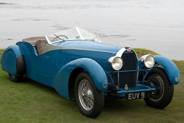 Bugatti Type 57 -  TT Bertelli Tourer