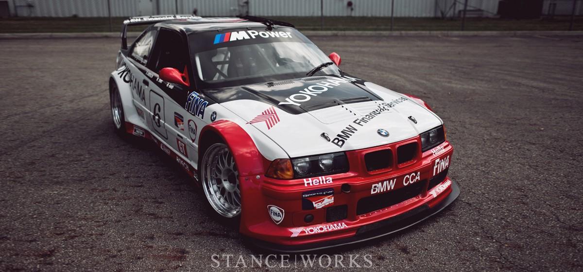 BMW M3 (E36) -  IMSA GT