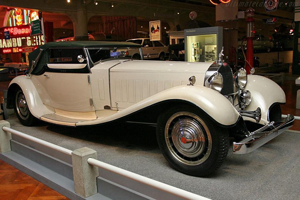 Bugatti Type 41 -  Royale Weinberger Cabriolet