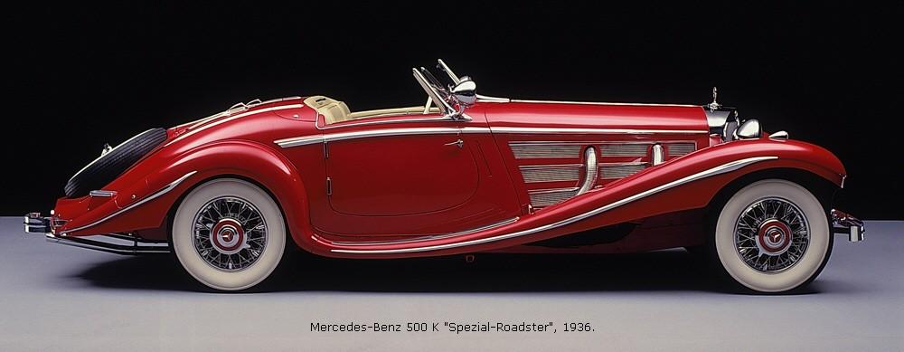 Mercedes-Benz W29 -  500 K Cabriolet A
