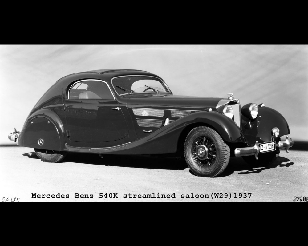 Mercedes-Benz W29 -  540 K Streamliner