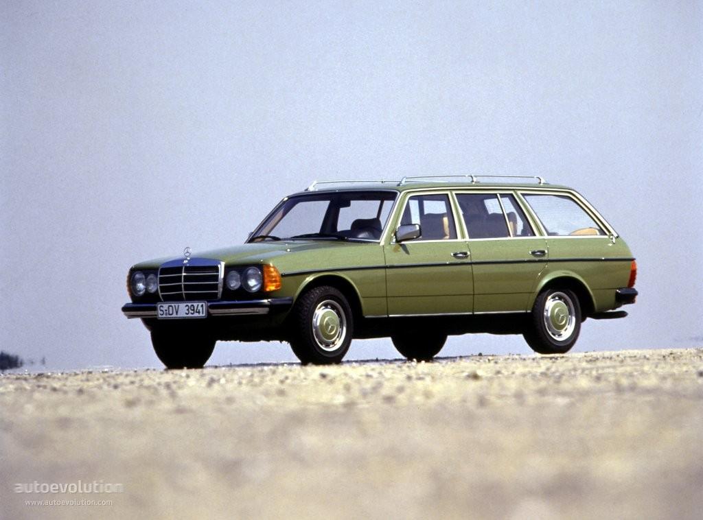 Mercedes-Benz W123 -  T-mod. (S123) 240 T D