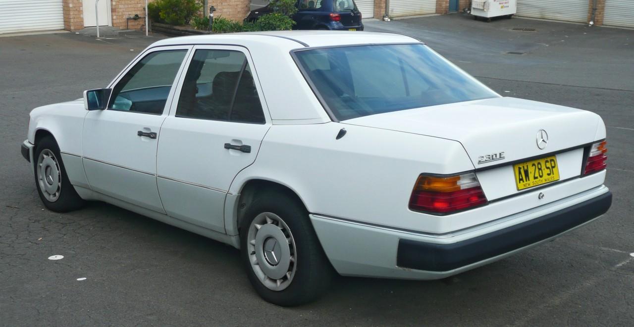 Mercedes-Benz W124 -  230 E - 2e série