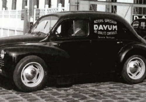 Renault 4 CV -  Commerciale