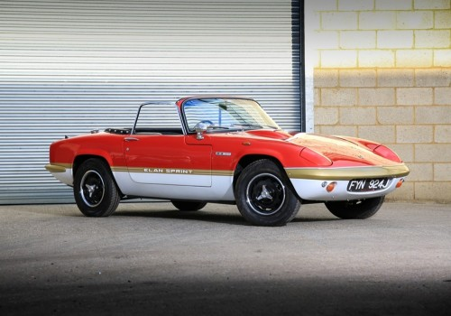 Lotus Elan -  Sprint Drop Head Coupe