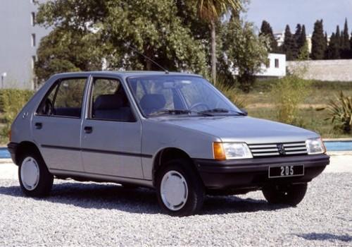 Peugeot 205 -  Serie I (741A/C) - 0.9