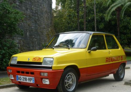 Renault R5 -  Monte Carlo