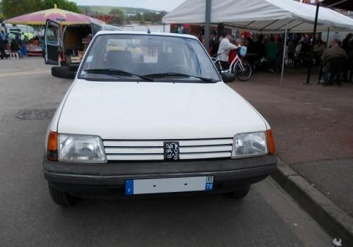 Peugeot 205 -  Série II (20A/C) - 1.0