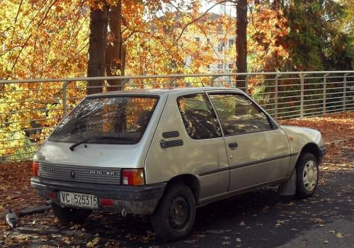 Peugeot 205 -  Série II (20A/C) - 1.1