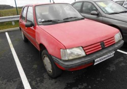 Peugeot 205 -  Serie I (741A/C) - 1.7 Diesel