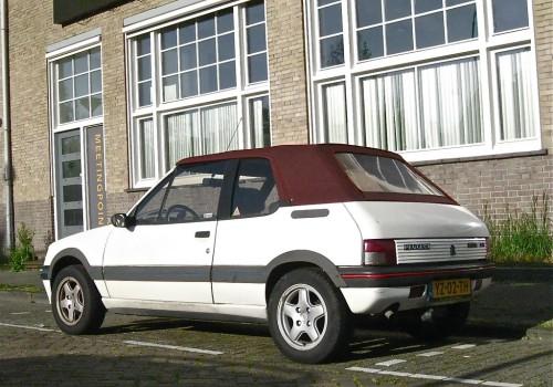 Peugeot 205 -  Série I Cabrio (741B,20D) - 1.1 CJ