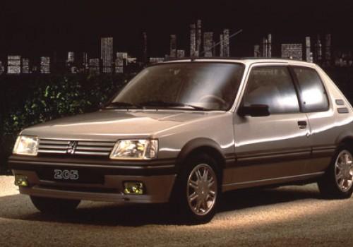 Peugeot 205 -  Série II (20A/C) - 1.9 Gentry Automatique