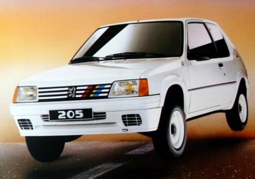 Peugeot 205 -  Série II (20A/C) - 1.3 Rallye