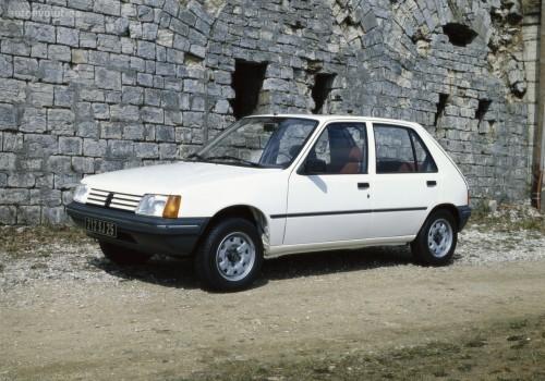 Peugeot 205 -  Serie I (741A/C) - 1.1