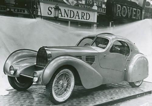 Bugatti Type 57 -  Prototype Coupé Aero