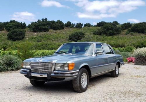 Mercedes-Benz W116 S-class -  450SE/SEL
