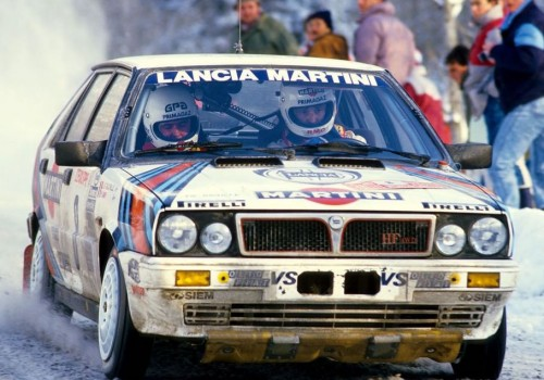 Lancia Delta HF -  4WD Groupe A