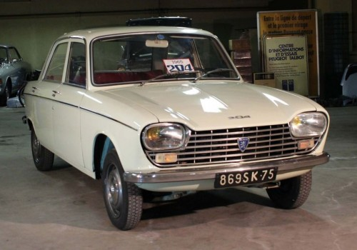 Peugeot 204 -  Berline (Série 1)