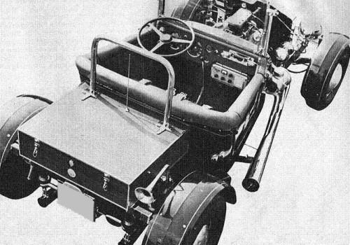 Lancia Aurelia -  B20 Buzzi Hot Rod