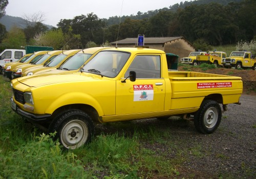 Peugeot 504 -  Pick-Up 4×4 Dangel