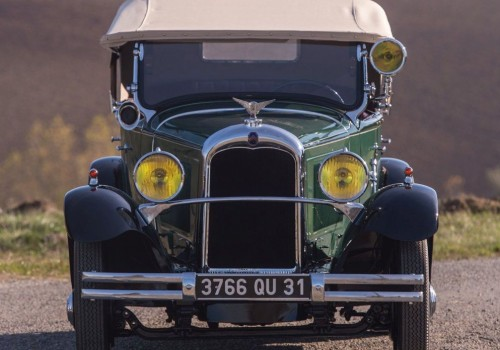 Citroën Type C4 -  C4 G Torpédo