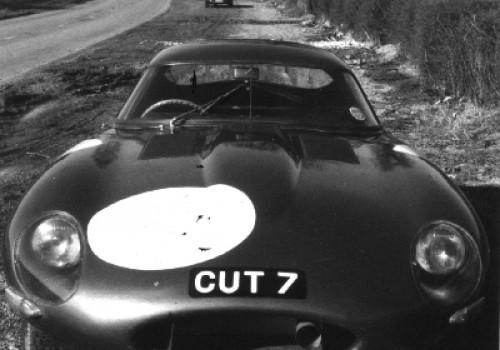 Jaguar Type E -  Low Drag