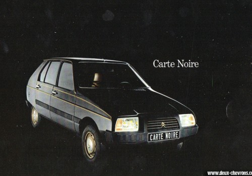 Citroën Visa -  Carte Noire