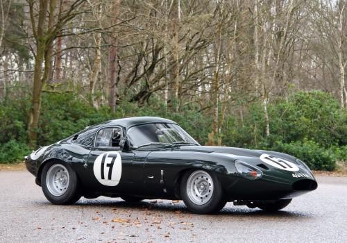 Jaguar Type E -  Lightweight Low Drag