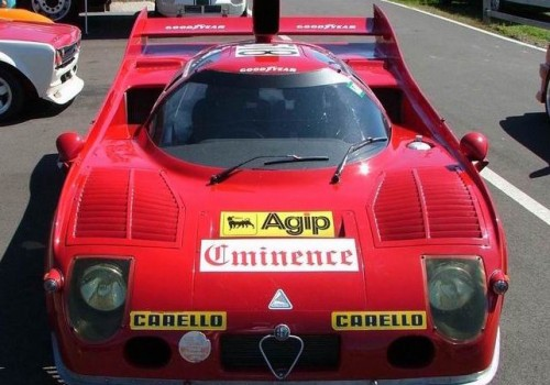 Alfa Romeo Tipo 33 Stradale Berlinetta