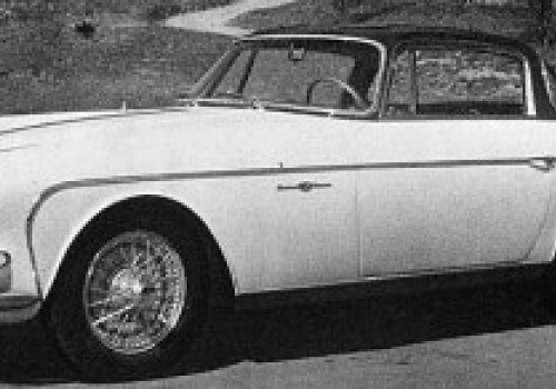 Jaguar XK 150 -  Allemano Coupe